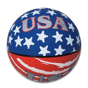 Patriotic USA Mini Basketball (1 pc) - onlinesportsmall