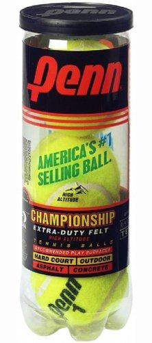 Penn Championship Extra Duty High Altitude Tennis Ball Can, 3 Balls - onlinesportsmall