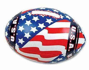 Soft Stuffed USA Flag Footballs (1 dz) - onlinesportsmall