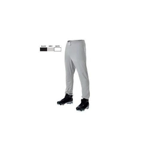 Youth Pull Up Baseball Pant XSM/Grey - onlinesportsmall