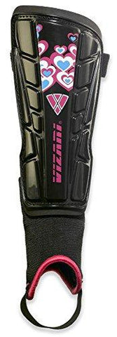 Vizari Retro Hearts Soccer Shinguards - XX Small - onlinesportsmall