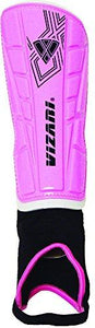Vizari Malaga Shin Guard, Pink/Black, Medium - onlinesportsmall