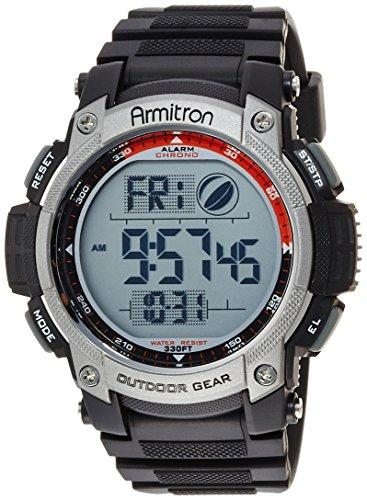 Armitron Sport Men's 40/8252BLK Black Digital Chronograph Watch - onlinesportsmall