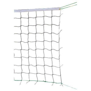 CHAMPRO Volleyball Net (Black/White, 30-Feet) - onlinesportsmall