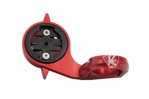 K-EDGE TT Mount for Garmin Edge and Forerunner Quarter Turn Type Computers, 22.2mm, Red - onlinesportsmall