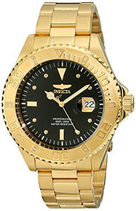 Invicta Men's 15286  Pro Diver  18k Yellow Gold Ion-Plated Stainless Steel and Diamond Accent Watch - onlinesportsmall