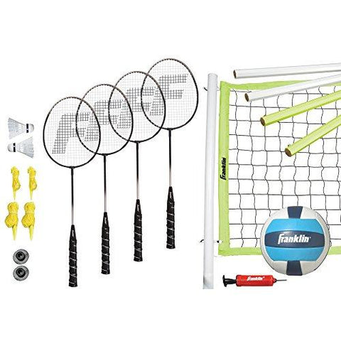 Franklin Sports Advanced Badminton/Volleyball Set - onlinesportsmall