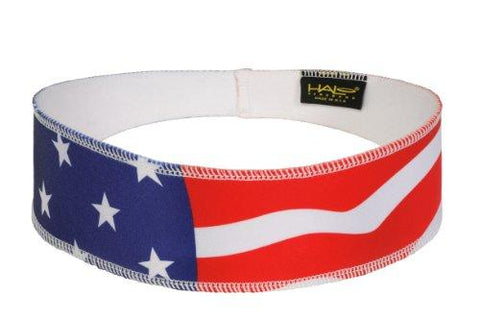 Halo II Headband Sweatband Pullover USA Flag - onlinesportsmall