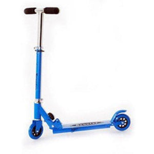 Kids Folding Kick Scooter (Blue) - onlinesportsmall