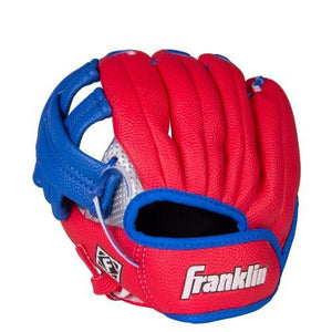 Franklin Sports Air Tech Left Handed Throw Youth Baseball Glove, 9-Inch