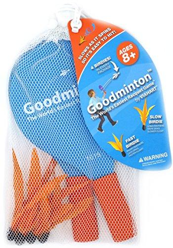 Goodminton | The World's Easiest Racket Game | An Indoor Outdoor Year-Round Fun Racquet Game for Boys, Girls, and People of All Ages - onlinesportsmall