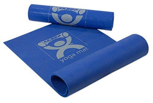 CanDo_ Exercise Mat - PER Yoga Mat - Blue - onlinesportsmall