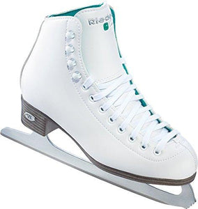 Riedell 2015 Figure Skates Model Child 10 Opal (White, 13) - onlinesportsmall