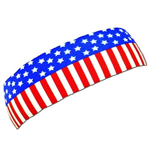 Red Lion Printed Headbands ( Flag - One Size ) - onlinesportsmall