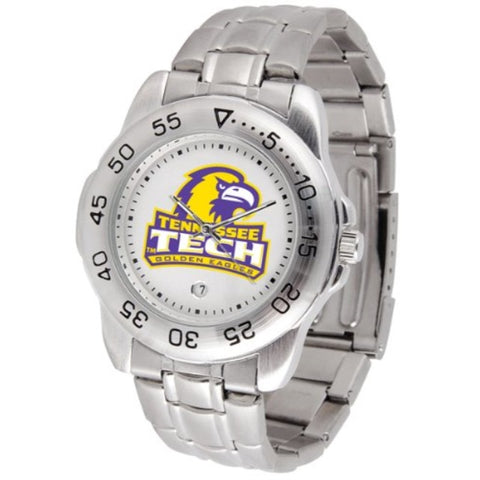 SunTime Tennessee Tech Golden Eagles Sport Steel Band Men's Watch