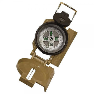 Rothco Military Marching Compass, Tan