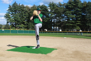 ProMounds Green Minor League Pitching Mound - onlinesportsmall