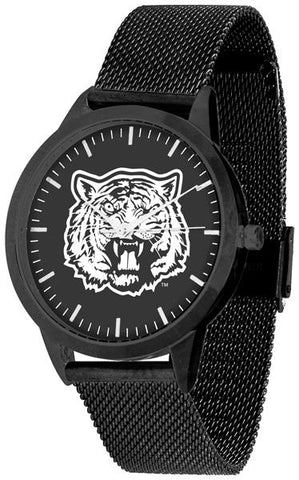 Grambling State University Tigers - Mesh Statement Watch - Black Band - Black Dial
