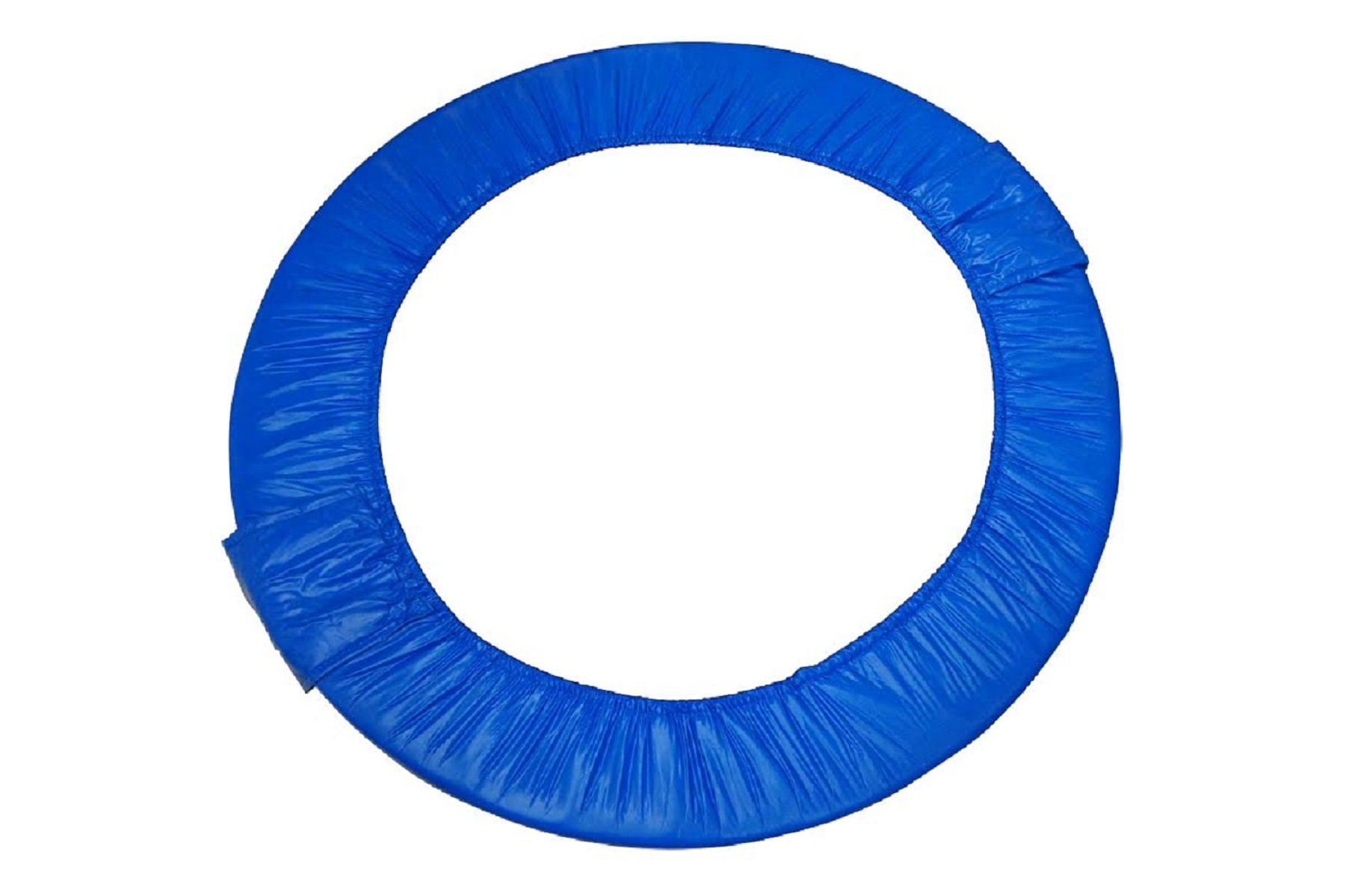 "36"" Mini Round Foldable Replacement Trampoline Safety Pad (Spring Cover) for 6 Legs - Blue - onlinesportsmall"