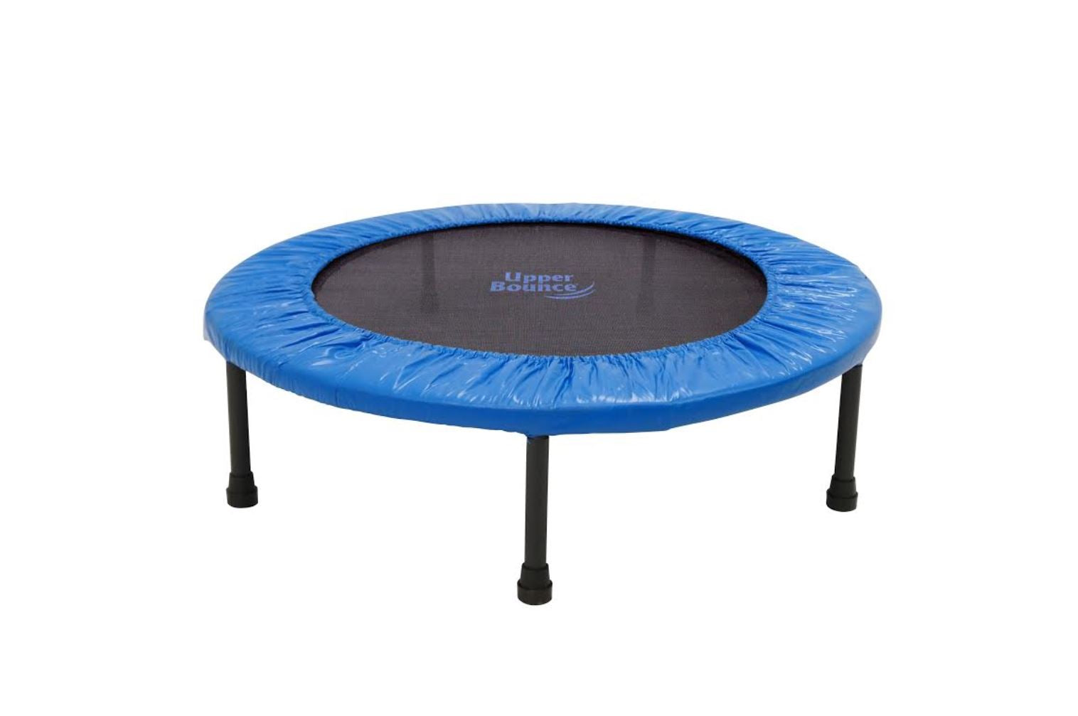 "Upper Bounce? 40"" Mini 2 Fold Rebounder Trampoline with Carry-on Bag Included - onlinesportsmall"