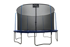11 FT. Trampoline with Top Ring Enclosure System equipped with the EASY ASSEMBLE FEATURE - onlinesportsmall