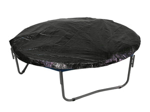 Trampoline Replacement Enclosure Net, Fits For 10 FT. Round Frames, With Adjustable Straps, Using 6 Poles or 3 Arches - onlinesportsmall