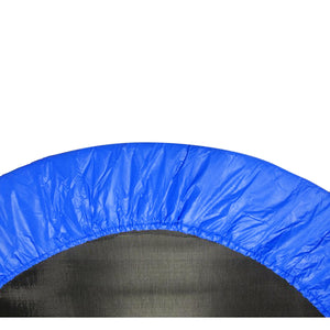 "40"" Mini Round Trampoline Replacement Safety Pad (Spring Cover) for 6 Legs - Blue"