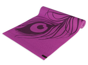 Yoga & Pilates Mat, Peacock Feather Purple - onlinesportsmall