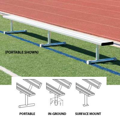 7.5' Portable Bench w/o Back - onlinesportsmall