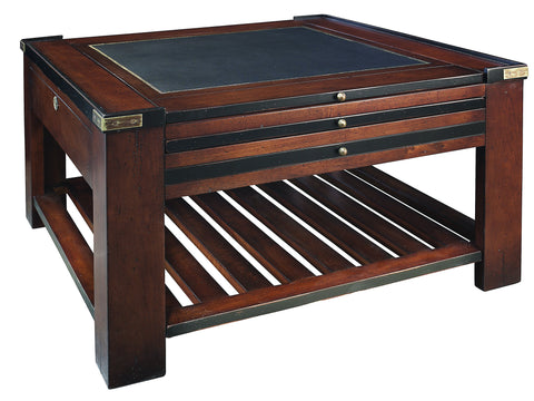 Timber Games Table with Interchanging Boards - Black Trim