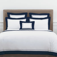 Yves Delorme Lutece Bed Linen Collection (Aqua, Blanc, Marine)