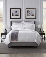 Sferra Grande Hotel Duvet Covers & Pillow Shams (White/aqua, blue, cornflower blue, grey, navy, taupe, white, ivory)