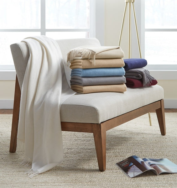 Sferra Dorsey Cashmere Throw