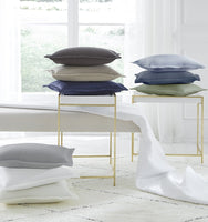 Sferra Favo Matelasse Coverlet and Pillow Sham