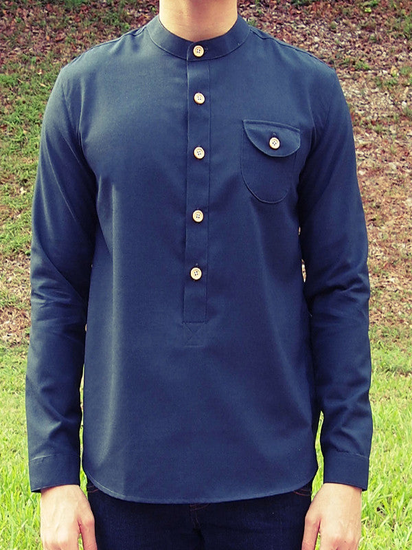 Henley Shirt (Black)