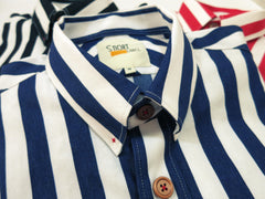 Nautical Stripe (Navy Blue) - Micro view