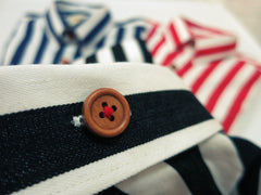 Nautical Stripe (Navy Blue) - Micro View 1