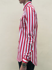 Nautical Stripe (Red) - Side Left