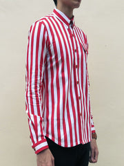 Nautical Stripe (Red) - Front view 2