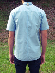 Short Sleeve Shirt (Light Blue)