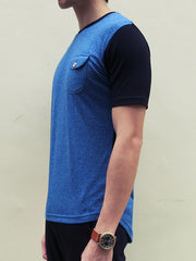 Drop-back Tee V2.0 (Blue)