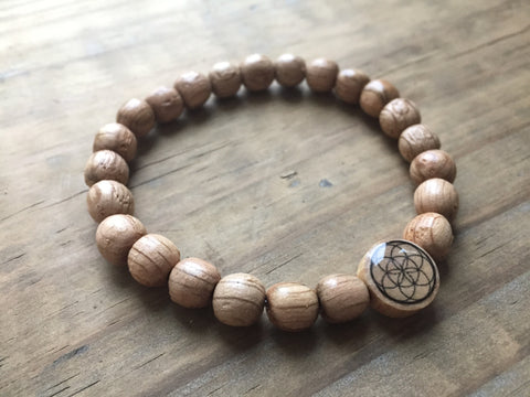 White Oak wood Mala