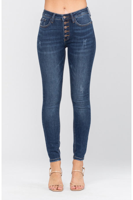 HOT SALE TILL THE 29TH! JB buttonfly no distress jean