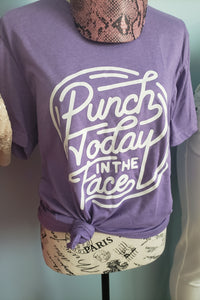 Punch life in the face tee