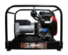 THE STEAMROLLER <span>HARDY MIGHTY MEAN MACHINE </br><em>12KVA PETROL GENERATOR - ELECTRIC START</em></span>
