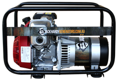 THE STRIVER <span>A LIGHTWEIGHT WORKHORSE </br><em>2.4KVA PETROL GENERATOR</em></span>