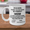 Purrrfect Cat Mom Mug - Gift For Mothers Day, Birthdays And Various Occasions - PetsDoo