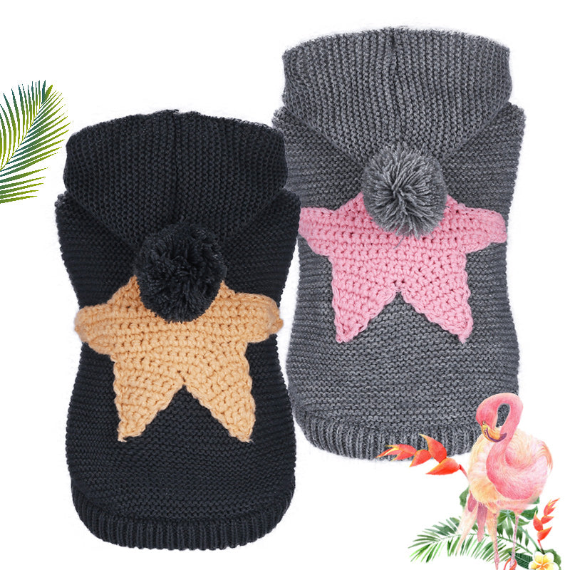Nordic Starfish Sweater - PetsDoo
