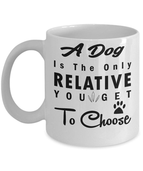 Personalized Coffee Mug with Custom Name Option for Pet Owners Dog Lover Mug Dog Mom Christmas Gift Coffee Mug for Puppy Owners