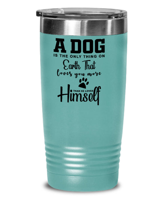 Custom Pet Mom Tumbler Dog Gift for Coworker Office Secret Santa Christmas Gift for Best Friend Gifts for Men and Women Work